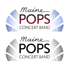 Logo for the Maine Pops Concert Band